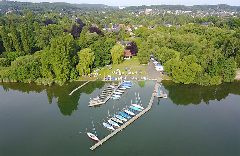 Luftaufnahme vom Seglerverein Malente (SVMG)